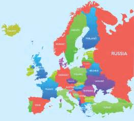 map of eastern us and europe map europe