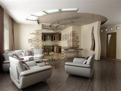 Modern Living Room Ceiling Design Modern Living Room Design With Luxurious Ceiling