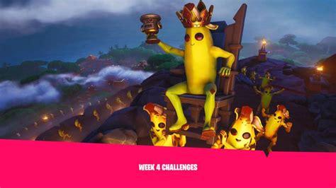 fortnite week 4 challenges fortnite season 8 week 4 challenges leaked gaming intel