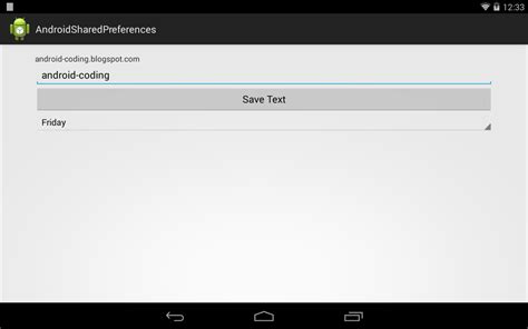 shared preference android android coding save something in sharedpreferences using sharedpreferences editor