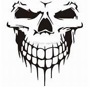 2018 Amazing Sticker Bombing Big Size 40x36cm Skull Head