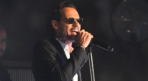 His Marc by Marc Anthony Returns To The Stage After His S