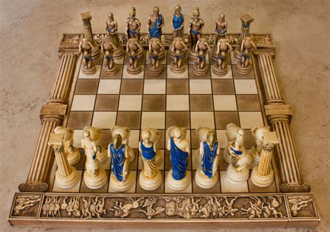 ceramic chess set ceramic handmade chess set atlas big