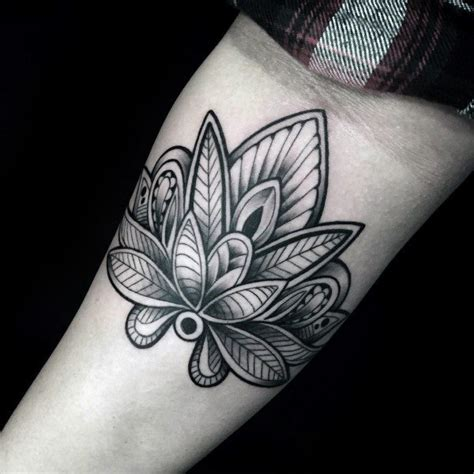 male flower tattoos lotus designs www imgkid the image kid