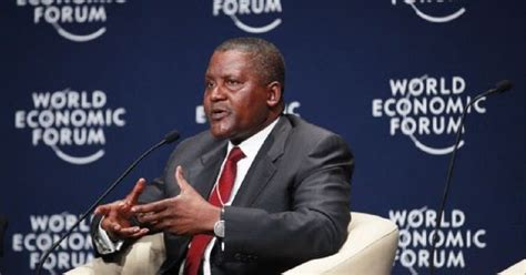 aliko dangote africa s richest wants to buy arsenal sack wenger ontop rankings news