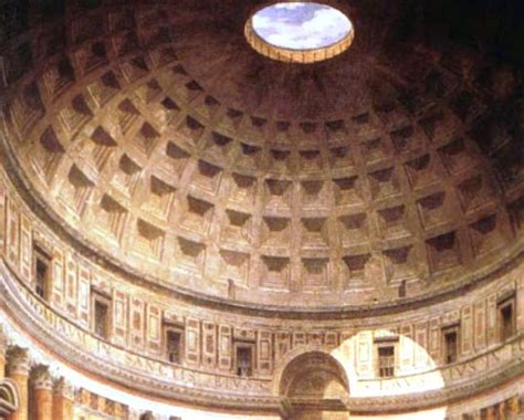 cupola pantheon archeologia le guide di supereva