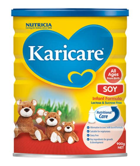 lactose free baby formula nz karicare soy formula all ages from birth 900g baby