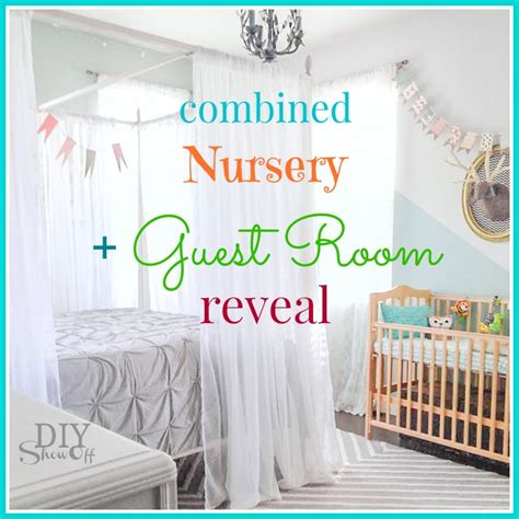 Bedroom Ideas For Guys guest room nursery makeover revealdiy show off diy
