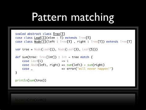 scala xml pattern matching attributes scala functional programming for the imperative mind