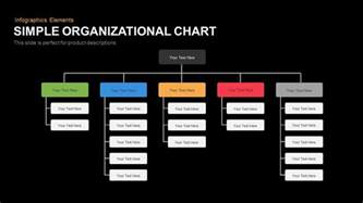 simple org chart template simple organizational chart slidebazaar