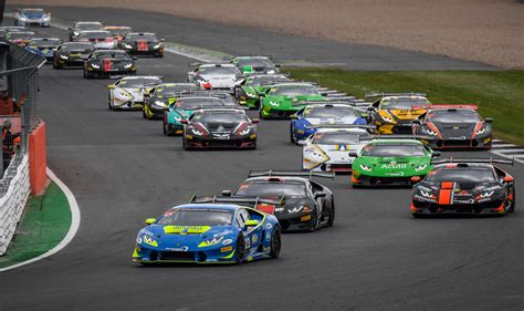 lamborghini race postiglione and cecotto win race 1 of the lamborghini