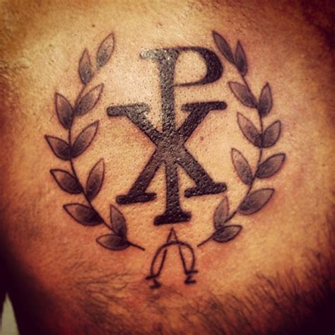 chi rho tattoo designs 50 chi rho designs and meanings