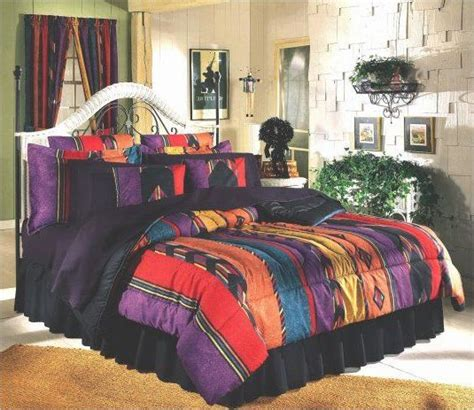 southwest colors for bedroom southwestern bedding colorful bedding and southwest style