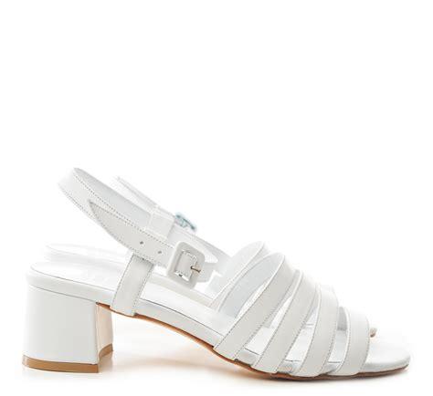 white low heel sandals maryam nassir zadeh white calf palma low heel sandals from