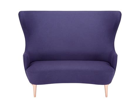 copper couch buy the tom dixon wingback sofa with copper legs at nest co uk
