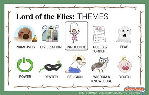lord   flies theme  innocence