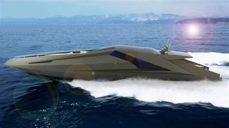 Versace Home Interior Design The Lamborghini On The Water Motoryacht By Mauro Lecchi