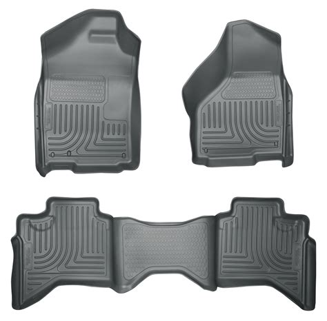 husky weatherbeater all weather floor mats for dodge ram