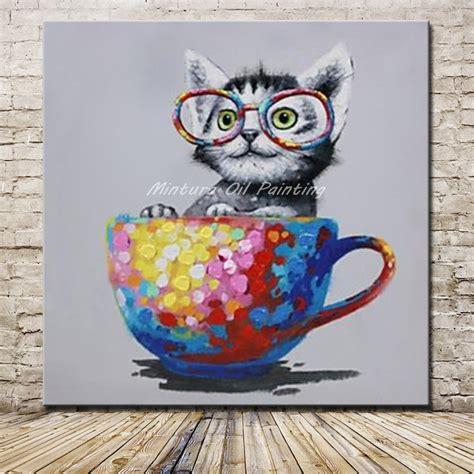 imagenes para dibujar en lienzo aliexpress com comprar mintura cuadros pintados a mano de