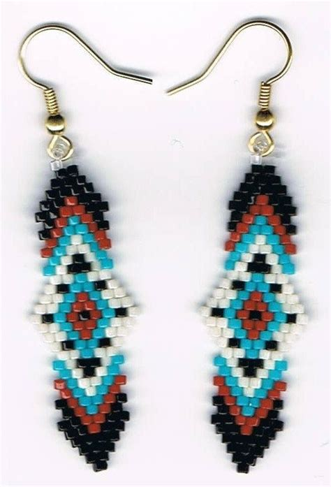 beaded earring designs beaded designs such as these earrings become