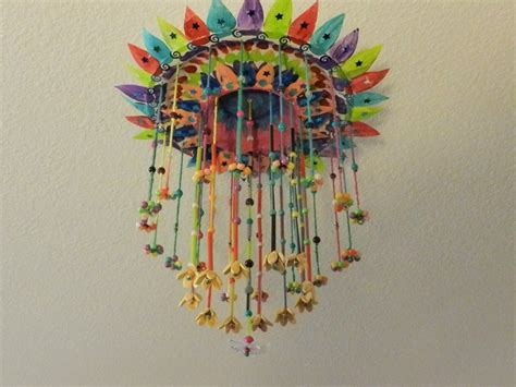 Hanging Paper Craft - creative diy crafts paper plate hanging craft with