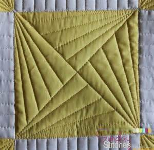 Machine Quilting Stitches by N Quilt How To Free Motion Quilt Spinning X Block