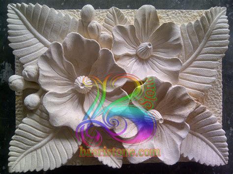 desain ornamen bunga desain rumah batu alam ukir batu alam paras jogja