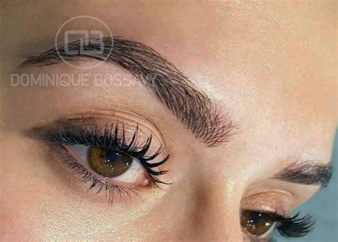 tattoo eyebrows florida eyebrows after the micro color infusion treatment of