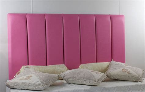 pink leather headboard durham faux leather headboard
