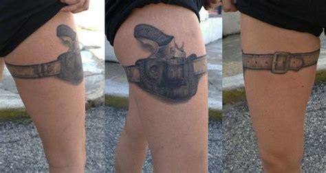 tattoo gun in holster gun tattoo tattoos pinterest sexy thighs and garter