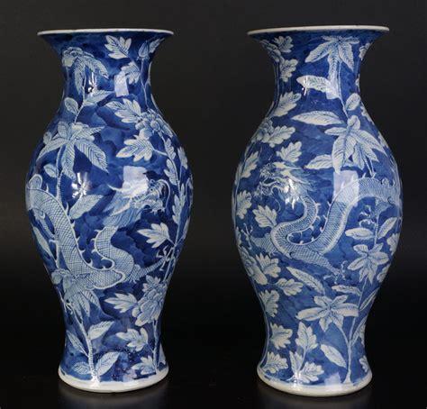 floreros antiguos de porcelana juego de antiguos jarrones chinos de porcelana con