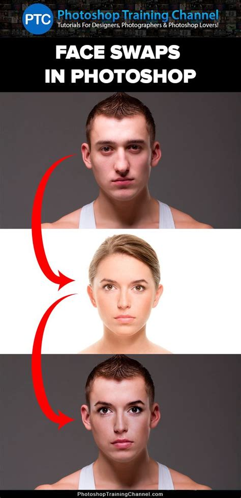 tutorial face swap photoshop cs3 video tutorials photoshop and faces on pinterest