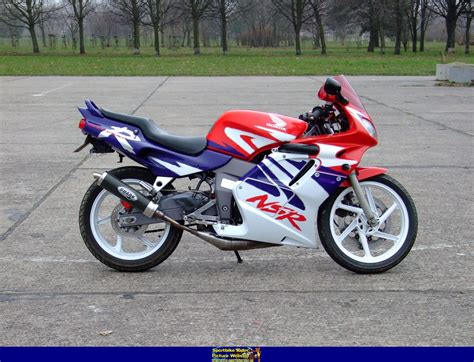 honda nsr 125 sportbike rider picture website