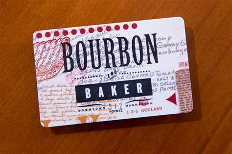 Bakers Gift Cards - gift cards bourbon baker