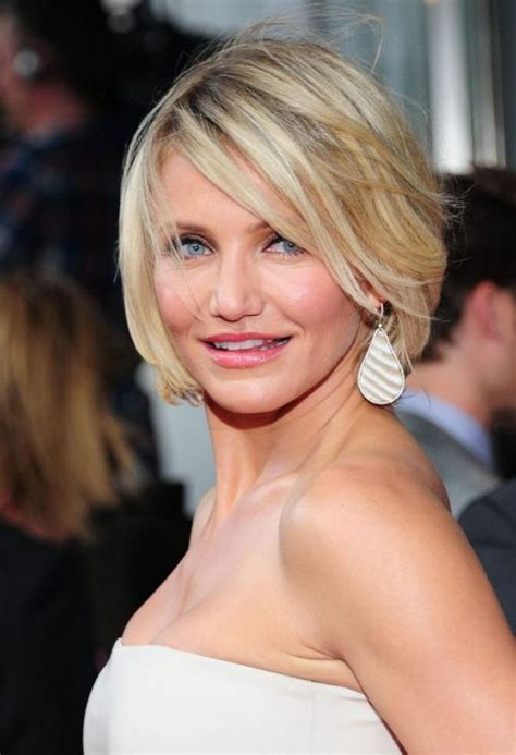 hairstyles cameron diaz bob chin length haircut for women short bob cut from cameron