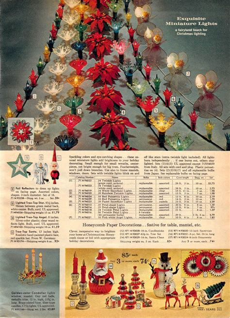 1962 sears christmas lightschristmas memories antiques