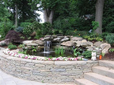 pictures of ponds in backyards how to build a pond in your yard