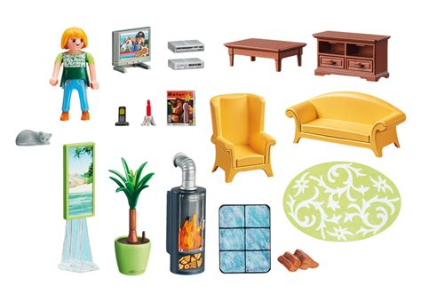 playmobil wohnzimmer living room with fireplace 5308 playmobil 174 canada