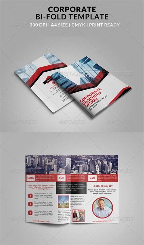 4 Fold Brochures Illustrator 187 Tinkytyler Org Stock Photos Graphics Bi Fold Brochure Template Illustrator