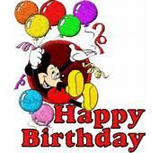 Disney Happy Birthday Mickey Mouse Characters Wallpaper