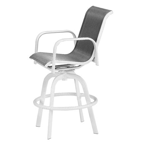 capri bar stool capri swivel bar stool by alu mont for hanamint