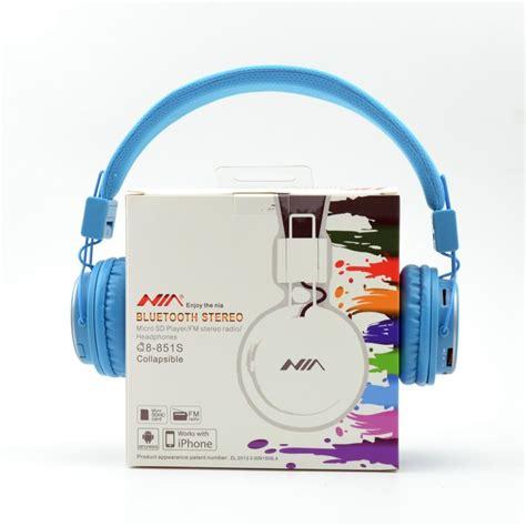 Headphone Bluetooth Wireless Calls Nia Q8 851s bluetooth nia stereo headphones tuesday trader