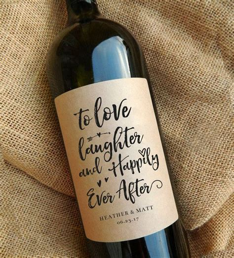 wine bottle labels bridal shower gift 2 25 b 228 sta engagement gifts id 233 erna p 229
