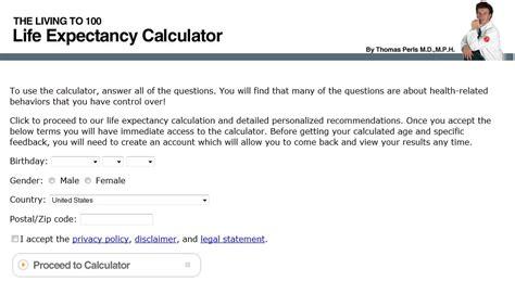 calculator umur kalkulator ini bisa prediksi umur manusia hingga kematian