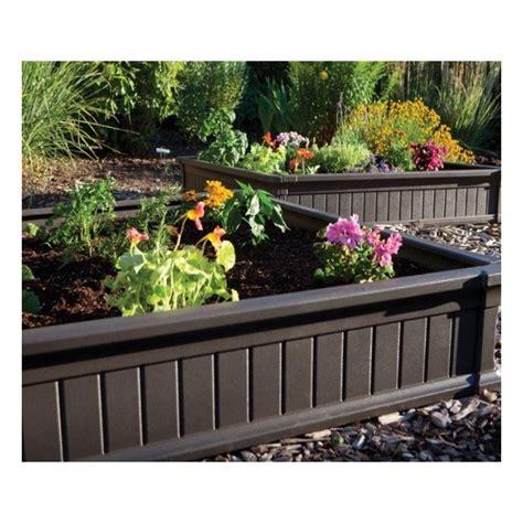 vinyl raised garden beds lifetime raised garden bed 20 pack no vinyl enclosures