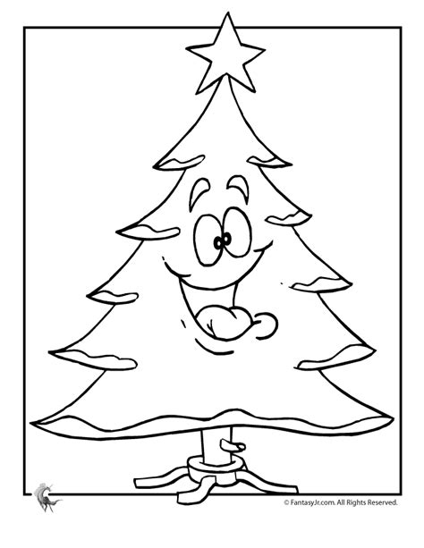 printable merry christmas tree merry christmas tree coloring page woo jr kids activities