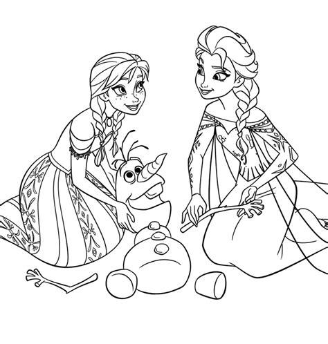 Disney Movie Princesses Quot Frozen Quot Printable Coloring Pages Princess Frozen Coloring Pages