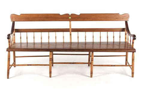 federal bench federal mixed wood windsor deacon s bench