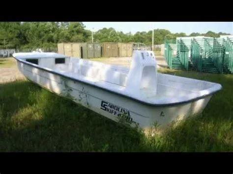 carolina skiff boat only for sale carolina skiff 2790 27 boat on govliquidation youtube