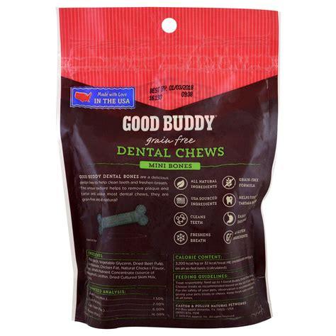 castor for dogs castor pollux buddy dental chews mini bones for dogs 28 bones iherb